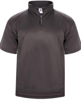 Badger Sportswear 1482 Poly Fleece Short Sleeve Quarter-Zip Catalog