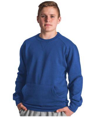 Badger Sportswear 1252 Pocket Crewneck Sweatshirt Royal