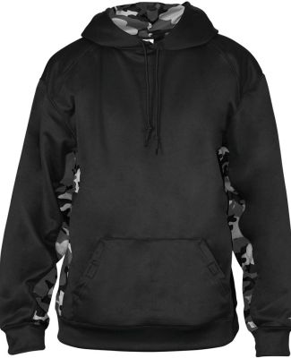 Badger Sportswear 1469 Camo Colorblock Performance Fleece Hooded Sweatshirt Catalog
