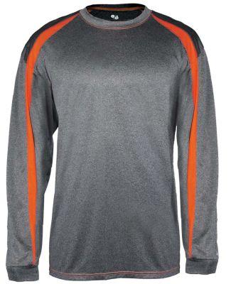 Badger Sportswear 4350 Pro Heather Fusion Long Sleeve T-Shirt Catalog