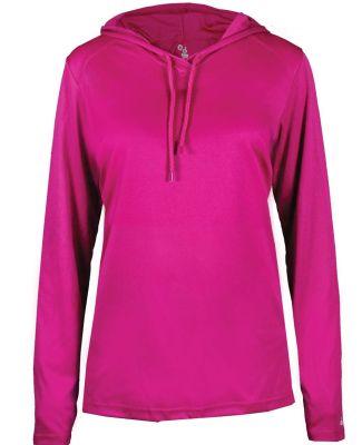 Badger Sportswear 4165 B-Core L/S Women's Hood Tee Catalog