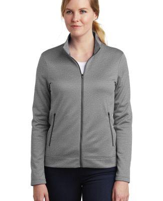 Nike AH6260  Ladies Therma-FIT Full-Zip Fleece Dark Grey Hthr
