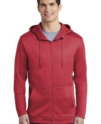 Nike AH6259  Therma-FIT Full-Zip Fleece Hoodie Gym Red