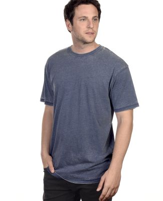 Cotton Heritage MC1081 Mens Burnout Tee Midnight