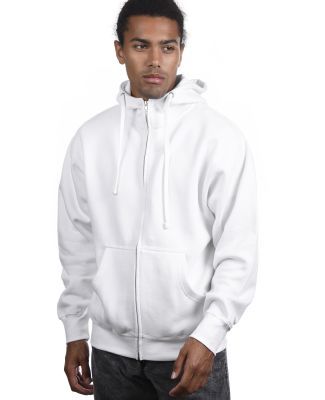 Cotton Heritage M2780 PREMIUM FULL-ZIP HOODIE White