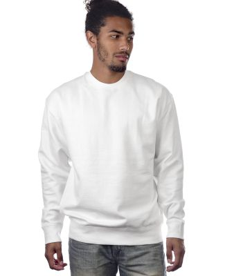 Cotton Heritage M2480 PREMIUM CREW NECK White