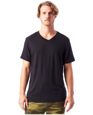 Alternative Apparel 5101 Men's Keeper V-Neck BLACK