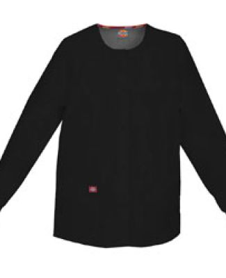 Dickies Medical 86306 / Round Neck Jacket Black