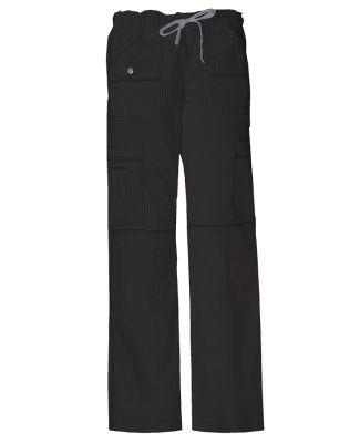 Dickies Medical 857455P/Low Rise Drawstring Pant - Black