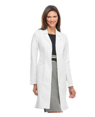 Dickies Medical 82401/Jr Lab Coat Dickies White
