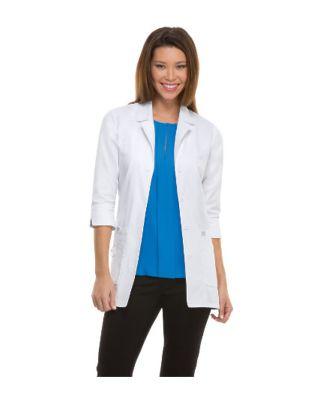 Dickies Medical 82402/Jr Lab Coat Dickies White
