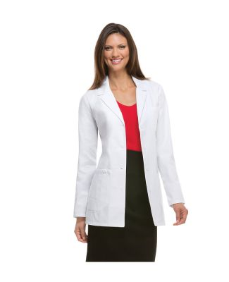 Dickies Medical 82403/Jrs Lab Coat Dickies White
