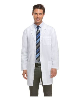 Dickies Medical 83402/Unisex Lab Coat Dickies White