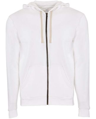 Next Level Apparel 9602 Unisex Zip Hoodie WHITE