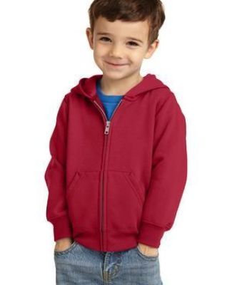 Port & Company CAR78TZH  Toddler Core Fleece Full-Zip Hooded Sweatshirt Catalog