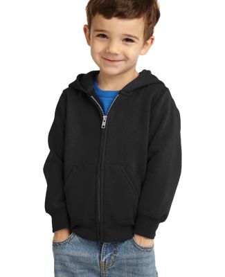 Port & Company CAR78TZH  Toddler Core Fleece Full- Jet Black