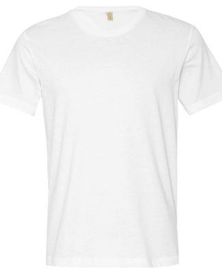 AA1070 Alternative Apparel Basic T-shirt WHITE