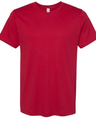AA1070 Alternative Apparel Basic T-shirt APPLE RED