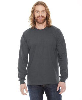 Unisex Fine Jersey USA Made Long-Sleeve T-Shirt ASPHALT