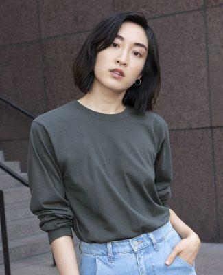 Unisex Fine Jersey USA Made Long-Sleeve T-Shirt Catalog