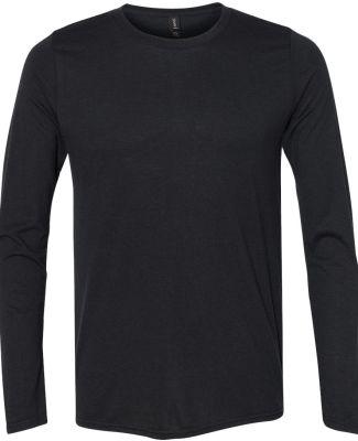 Anvil 6740 Triblend Long Sleeve T-Shirt BLACK