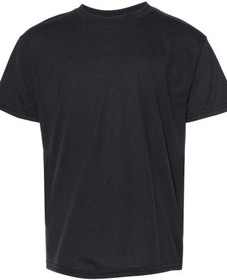 Anvil 6750B Youth Triblend Tee BLACK