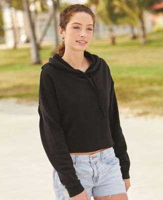 Independent Trading Co. AFX64CRP Women's Lightweight Hooded Pullover Crop Sweatshirt Catalog