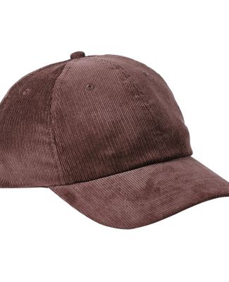 Big Accessories BA703 Corduroy Cap BROWN