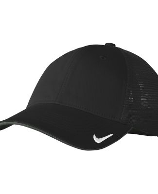 Nike AO9293  Dri-FIT Mesh Back Cap Black/Black