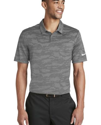 Nike AA1852  Dri-FIT Waves Jacquard Polo Dk Grey/Wolf G