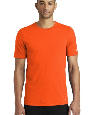 Nike BQ5231  Dri-FIT Cotton/Poly Tee Brilliant Orng