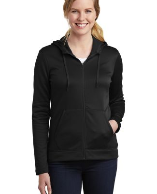 Nike AH6264  Ladies Therma-FIT Full-Zip Fleece Hoo Black