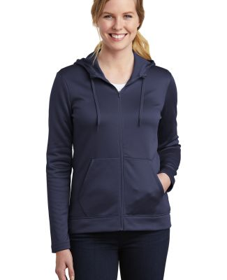 Nike AH6264  Ladies Therma-FIT Full-Zip Fleece Hoo Midnight Navy