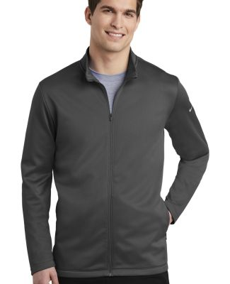 Nike AH6418  Therma-FIT Full-Zip Fleece Anthracite