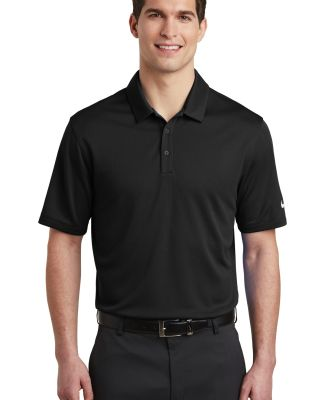 Nike AH6266  Dri-FIT Hex Textured Polo Black