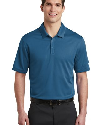 Nike AH6266  Dri-FIT Hex Textured Polo Court Blue