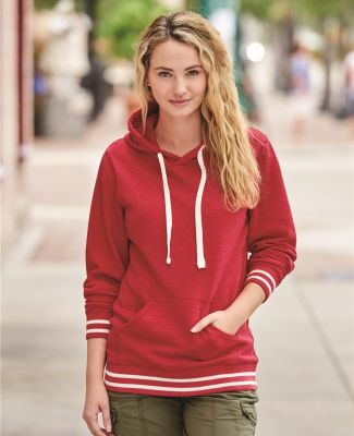 J America 8651 Relay Women's Hooded Pullover Sweatshirt Catalog