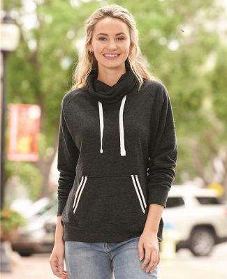 J America 8653 Relay Women's Cowlneck Sweatshirt Catalog