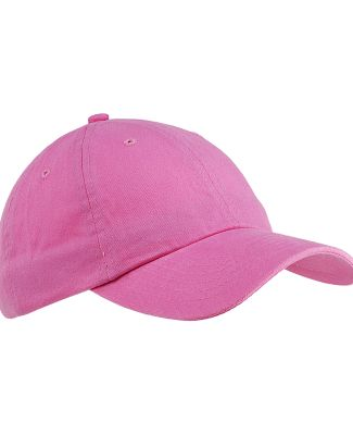 Big Accessories BX001 6-Panel Unstructured Dad Hat PINK