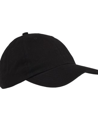 Big Accessories BX001 6-Panel Unstructured Dad Hat BLACK