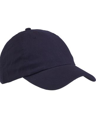 Big Accessories BX001 6-Panel Unstructured Dad Hat NAVY