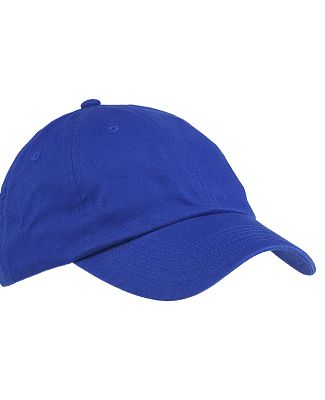 Big Accessories BX001 6-Panel Unstructured Dad Hat ROYAL