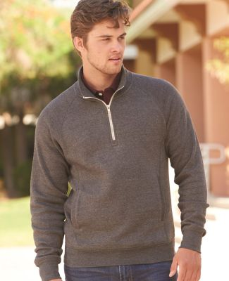 J America 8869 Triblend 1/4 Zip Pullover Sweatshirt Catalog