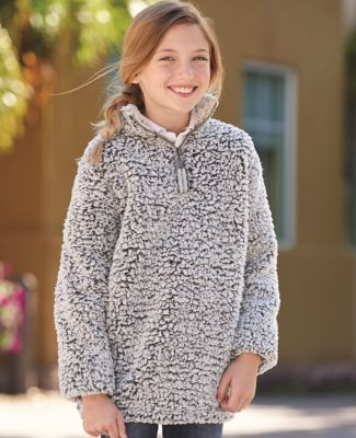 J America 8462 Epic Sherpa Youth Quarter-Zip Pullover Catalog