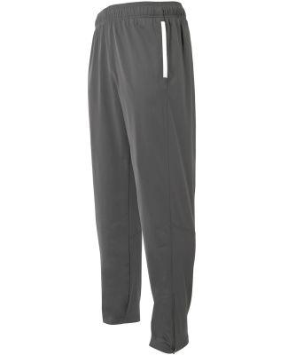 A4 Apparel N6199 Adult League Warm Up Pant Graphite/White