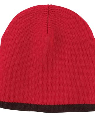 TNT Big Accessories Knit Cap RED/ BLACK