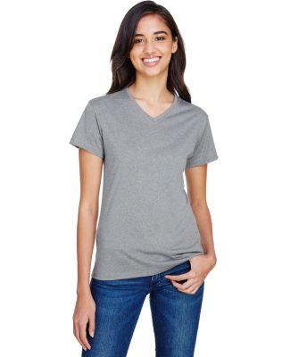 A4 Boys Tourney Heather Short Sleeve Colo Block Shirt