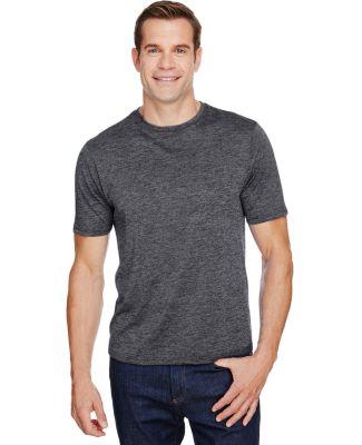 A4 Apparel N3010 Men's Tonal Space-Dye T-Shirt CHARCOAL
