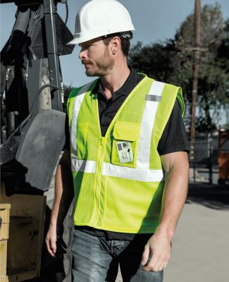 ML Kishigo 1532-1533 Clear ID Vest with Zipper Closure Catalog