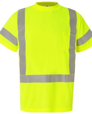 ML Kishigo 9118-9119 Class 3 Short Sleeve T-Shirt Lime